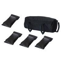 5er Pack Gewichte Sandsack Training Yoga Heavy Duty Workout Gym Sandsack