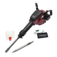 Abbruchhammer 2.5 PS 55J 1500 1/min Meißelhammer Stemmhammer Schlagbohrmaschine