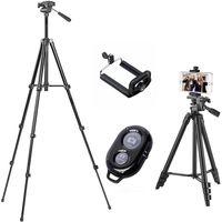 106cm Stativ Kamera Stativ Kamera Dreibein Tripod Aluminium für Handy Halterung Lightweight Tripod Ständer