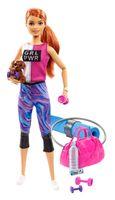 Barbie Wellness Fitness Puppe und Spielset