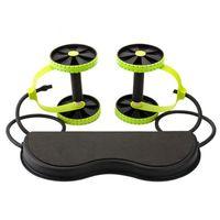 ✔BESTSELLER!!! Bauchmuskeltrainer Bauchmuskeltrainer Fitnessgerät Bauchroller AB Wheel mit Seil ziehen