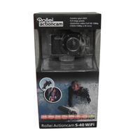 Rollei S-40 WIFI Standard Edition 5 Megapixel Full HD Action-Kamera, 1 GB Speicher, elektronischer Bildstabilisator, CMOS-Sensor, USB, WLAN, Flash-Speicher
