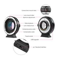Viltrox EF-M2 Autofokus Objektiv Mount Adapter 0.71X fuer Canon EOS EF Objektiv zu Micro Four Thirds (MFT, M4 / 3) Kamera