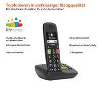 Gigaset S30852-H2921-B101 Telefon Analoges/DECT-Telefon Schwarz Anrufer-Identifikation - Plug-Type C (EU)