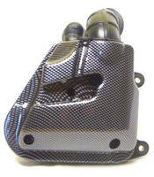 Luftfilter Box Carbon Look für Minarelli liegend Motoren, Yamaha Aerox, SR50, Nitro, CPI