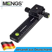 "MENGS DB-180 1/4"" Panorama Kamera Schnellwechselplatte +Klemme für ARCA-SWISS RRS"