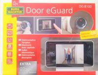 BURG-WÄCHTER DG 8100 Digitaler Türspion Farbdisplay Türstärken von 38-110mm