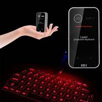 Drahtlose virtuelle Bluetooth-Laserprojektions-Tastatur Für PC Tablet Laptop IR,Bluetooth rote Laserprojektionstastatur,Drahtlose virtuelle Lasertastatur