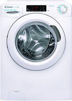 Candy Smart Pro CSO44 1285TE/2-S Waschmaschine / 8 kg/Smarte Bedienung mit Wi-Fi und Bluetooth/Easy Iron – Dampffunktion/Symbolblende/Tiefe nur 46,9 cm, Weiß