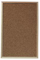 Herlitz Korktafel mit Holzrahmen Maße: (B)400 x (H)600 mm