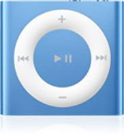 Apple iPod shuffle 2Gb Blue iPod, Blau, Flash-media, 2 GB, AAC, MP3, WAV, 3.5 mm, 20 - 20000 Hz