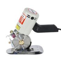90mm Elektrische Stoff-Rollschneider, elektrische Stoffschere Rund Klinge Cutter, Stof-Schneidemaschine, Stoffschneider