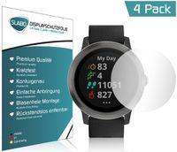 "4x Slabo Displayschutzfolie für Garmin Vivoactive 3 GPS KLAR ""Crystal Clear"""