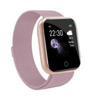 Bluetooth Smartwatch Schrittzähler Armbanduhr Sport Fitness Tracker Für Samsung HUAWEI Smartwatch Wasserdicht Damen