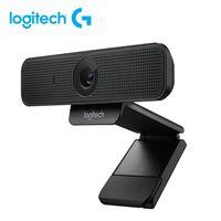 Logitech C925e Webcam 1080P HD-Videoanruf Business Webcam Autofokus USB-Kamera Clip-on-Computer Remote Teaching Webcam mit Mikrofon fš¹r Notebook Laptop LCD-Monitor