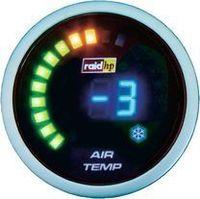 Raid HP 660511 Zusatzinstrument Aussenthermometer Serie Night Flight Digital Blue