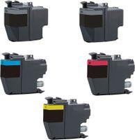 XL Druckerpatronen-Set kompatibel mit Brother LC-3219 XL / LC-3217 - 5 Patronen in XL Füllmenge für MFC-J5330 DW, MFC-J5330 DW XL, MFC-J5335 DW, MFC-J5730 DW, MFC-J5830 DW, MFC-J5930 DW, MFC-J6530 DW, MFC-J6535 DW, MFC-J6535 DW XL, MFC-J6730 DW, MFC-J6930 DW, MFC-J6935 DW / ersetzt LC-3217 black, cyan, magenta, yellow, LC-3219 black XL, cyan XL, magenta XL, yellow XL
