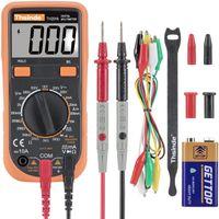 Digital Multimeter Durchgangsprüfer Multimeter Voltmeter, AC/DC Multi Tester Spannung, Strom, Widerstand