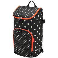 reisenthel citycruiser bag mixed dots Einkaufstasche für citycruiser rack -    Weiße Punkte