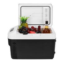 MECO Auto Kühlschrank Gefrierschrank Kühler Mini Kühlschrank 20L Tragbarer Kompressor 12 / 24V für Auto und Zuhause