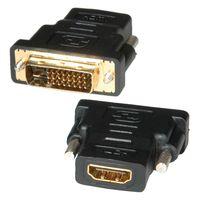 ROLINE HDMI-DVI Adapter, HDMI BU / DVI-D ST