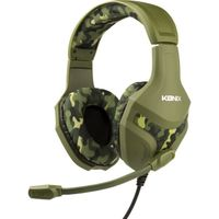 Ps4 - Konix Gaming Headset Camouflage - Zb-Ps4