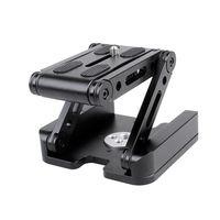 Portable Aluminium Alloy Flexible Faltbare Tilt Head Z-förmigen Stativkopf für Canon Nikon Sony DSLR ILDC-Kameras max. Laden Sie 3,5 kg