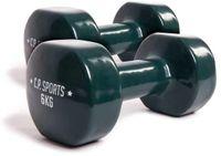C.P. Sports Gymnastikhanteln 6 kg / Grün (K4-06)