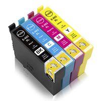 4x Xemax 603 XL Tintenpatronen Kompatibel für Epson 603XL Druckerpatronen für Epson Expression Home XP-2100 XP-3100 XP-3105 XP-4100 XP-4105 Workforce WF-2830DWF WF-2835DWF WF-2850DWF WF-2810DWF Drucker