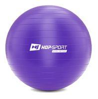 Hop-Sport Gymnastikball inkl. Ballpumpe, 85cm, Maximalbelastbarkeit bis 100kg, Fitnessball ideal für für Yoga Pilates, Balance  - Lila