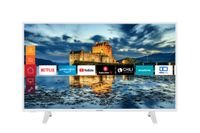 Telefunken XF43J511-W 43 Zoll Fernseher (Smart TV inkl. Prime Video / Netflix / YouTube, Full HD, Works with Alexa, Triple-Tuner)