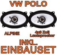 Lautsprecher hinten - Alpine SXE-4625S - 4x6 Koax-System für VW Polo 6N Classic & Variant - justSOUND
