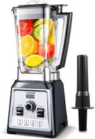 Amzchef Standmixer Smoothie Blender 2000 Watt High Speed Smoothie Maker 2 L Ice-Crusher