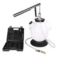 Crenex 7,5 L Öl-Einfüllgerät Befüllgerät Öl Getriebeöl Einfüllgerät Ölwechsel Handpumpe mit Adapter