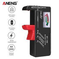 ANENG BT-168 Knopf-Batterie-Pruefer Universal-Zeiger-Anzeigetester 1,5 V / 9 V AA AAA-Diagnose-Tool fuer Knopf-Batterie-Kapazitaet
