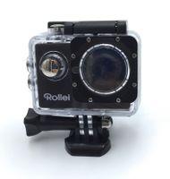 Rollei Actioncam 4S Plus, Farbe:Schwarz