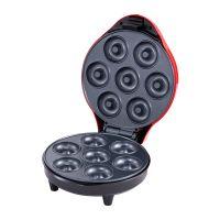 Mini Donut Maker Maschine für Frühstück, Snacks, Desserts Donut Maker Antihaft-Oberfläche, für 7 Donuts EU-Stecker 1200 W