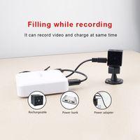 HD 1080P Mini DV Kamera Auto Camcorder mit TF-Kartensteckplatz Infrarot-Nachtsichtkamera mit Bewegungssensor Magnetische Funkkamera mit Zubehoer fuer die Sicherheit zu Hause