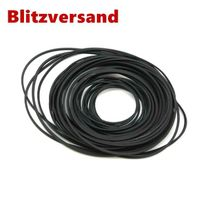 28x Riemen Antriebsriemen 4.5-18.5CM für Kassettendeck Cassette Tape Deck Belt DE