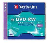 Verbatim DVD-RW 4.7GB Wiederbeschreibbare DVD