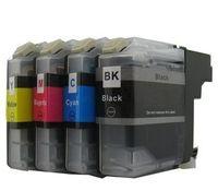 Druckerpatronen-Set kompatibel mit Brother LC-223 und LC-225  black, cyan, magenta und yellow für DCP-J4120 DW, DCP-J562 DW, MFC-J1140 W, MFC-J1150 DW, MFC-J1170 DW, MFC-J1180 DWT, MFC-J4420 DW, MFC-J4425 DW, MFC-J4620 DW, MFC-J4625 DW, MFC-J480 DW, MFC-J5320 DW, MFC-J5620 DW, MFC-J5625 DW, MFC-J5720 DW, MFC-J680 DW, MFC-J880 DW
