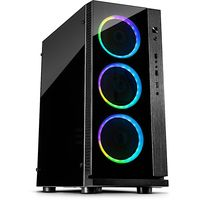 Inter-Tech W-III RGB Tower Schwarz
