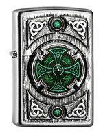 Zippo Feuerzeug Celtic Green Cross 2005167