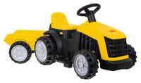 Traktor mit Anhänger Akku gelb COIL