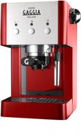 Gaggia Grangaggia Deluxe Traditionelle Espressomaschine, freistehendes Gerät, 950 Watt, 15 Bar, 1 l FÃ1/4llmenge, Tassenwärmer, Milchaufschäumer
