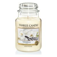 Yankee Candle Duftwachsglas groß Vanille 1507743E