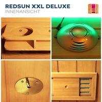 Infrarotkabine REDSUN Deluxe - XXL