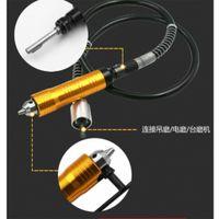 0.3 6.5mm Schleifer Flexible Welle Für Bohrmaschine Drehgriff Griff