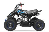 Nitro Motors 49cc Kinder Quad Mini Python 6 Zoll Atv Pocketquad Blau