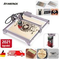 ATOMSTACK A5 PRO CNC Laser Graviermaschine Kit 410x400mm 12V Lasergravur Maschine, Laser Master 40W Laser Engraving Machine
